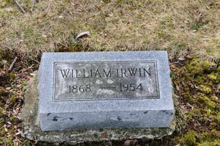IRWIN, WILLIAM - Morrow County, Ohio | WILLIAM IRWIN - Ohio Gravestone Photos