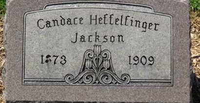 HEFFELFINGER JACKSON, CANDACE - Morrow County, Ohio | CANDACE HEFFELFINGER JACKSON - Ohio Gravestone Photos