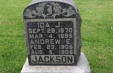 JACKSON, IDA J. - Morrow County, Ohio | IDA J. JACKSON - Ohio Gravestone Photos