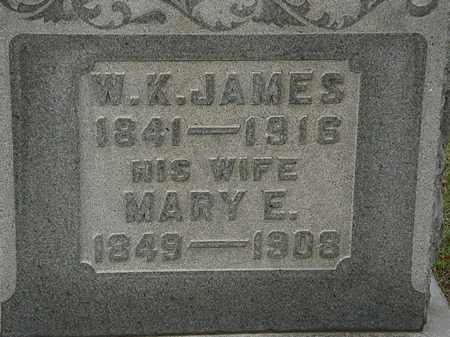 JAMES, MARY - Morrow County, Ohio | MARY JAMES - Ohio Gravestone Photos