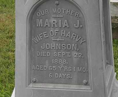 JOHNSON, MARIA J. - Morrow County, Ohio | MARIA J. JOHNSON - Ohio Gravestone Photos