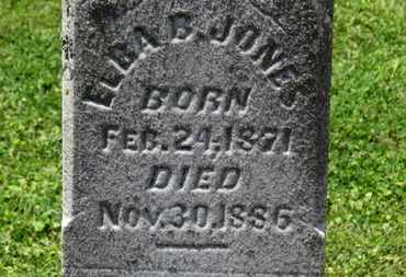 JONES, ELBA B. - Morrow County, Ohio | ELBA B. JONES - Ohio Gravestone Photos