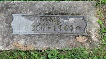 JONES, GEORGE F. - Morrow County, Ohio | GEORGE F. JONES - Ohio Gravestone Photos