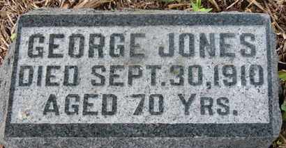 JONES, GEORGE - Morrow County, Ohio | GEORGE JONES - Ohio Gravestone Photos