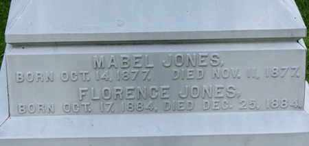 JONES, FLORENCE - Morrow County, Ohio | FLORENCE JONES - Ohio Gravestone Photos