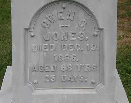 JONES, OWEN O. - Morrow County, Ohio | OWEN O. JONES - Ohio Gravestone Photos