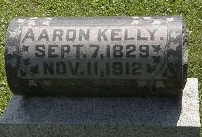 KELLY, AARON - Morrow County, Ohio | AARON KELLY - Ohio Gravestone Photos