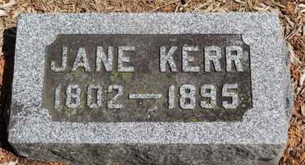 KERR, JAME - Morrow County, Ohio | JAME KERR - Ohio Gravestone Photos