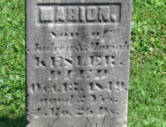 KESLER, ANDREW - Morrow County, Ohio | ANDREW KESLER - Ohio Gravestone Photos