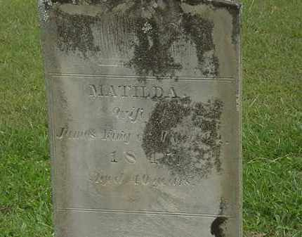 KING, MATILDA - Morrow County, Ohio | MATILDA KING - Ohio Gravestone Photos