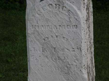KINNAMON, GEORGE - Morrow County, Ohio | GEORGE KINNAMON - Ohio Gravestone Photos