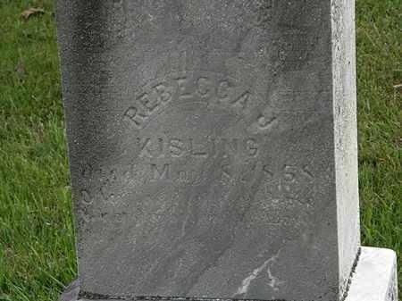 KISLING, REBECCA J. - Morrow County, Ohio | REBECCA J. KISLING - Ohio Gravestone Photos