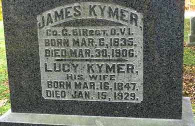 KYMER, JAMES - Morrow County, Ohio | JAMES KYMER - Ohio Gravestone Photos