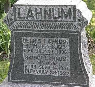 LAHNUM, DENNIS - Morrow County, Ohio | DENNIS LAHNUM - Ohio Gravestone Photos