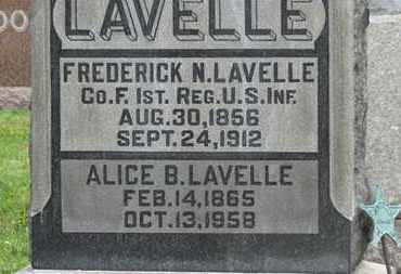 LAVELL, ALICE B. - Morrow County, Ohio | ALICE B. LAVELL - Ohio Gravestone Photos