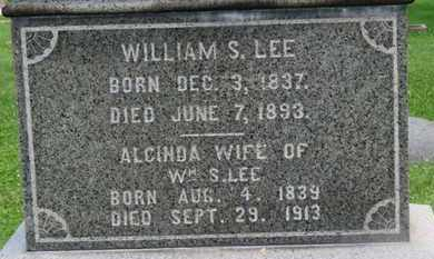 LEE, WILLIAM S. - Morrow County, Ohio | WILLIAM S. LEE - Ohio Gravestone Photos