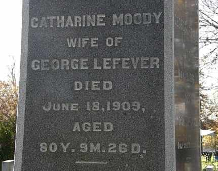 LEFEVER, CATHARINE - Morrow County, Ohio | CATHARINE LEFEVER - Ohio Gravestone Photos