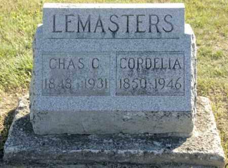 LEMASTERS, CORDELIA - Morrow County, Ohio | CORDELIA LEMASTERS - Ohio Gravestone Photos