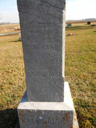 LEONARD, BURTHA - Morrow County, Ohio | BURTHA LEONARD - Ohio Gravestone Photos