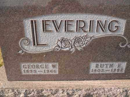 LEVERING, GEORGE W - Morrow County, Ohio | GEORGE W LEVERING - Ohio Gravestone Photos