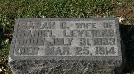 LEVERING, SARAH C. - Morrow County, Ohio | SARAH C. LEVERING - Ohio Gravestone Photos