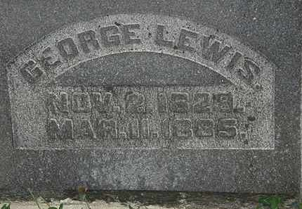 LEWIS, GEORGE - Morrow County, Ohio | GEORGE LEWIS - Ohio Gravestone Photos
