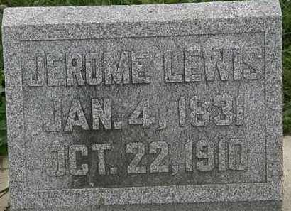 LEWIS, JEROME - Morrow County, Ohio | JEROME LEWIS - Ohio Gravestone Photos