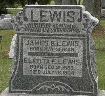 LEWIS, ELECTA E. - Morrow County, Ohio | ELECTA E. LEWIS - Ohio Gravestone Photos