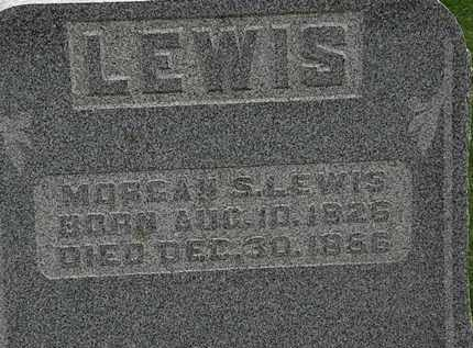 LEWIS, MORGAN S. - Morrow County, Ohio | MORGAN S. LEWIS - Ohio Gravestone Photos