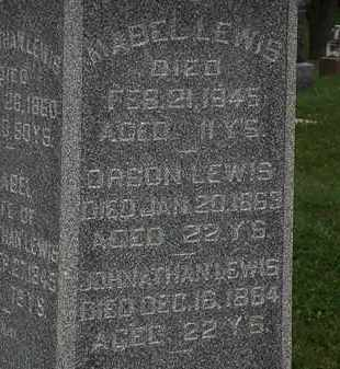 LEWIS, MABEL - Morrow County, Ohio | MABEL LEWIS - Ohio Gravestone Photos