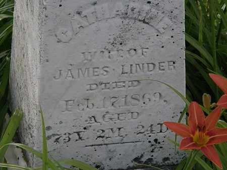 LINDER, JAMES - Morrow County, Ohio | JAMES LINDER - Ohio Gravestone Photos