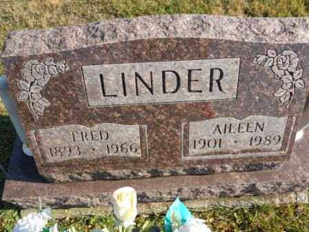 LINDER, FRED - Morrow County, Ohio | FRED LINDER - Ohio Gravestone Photos