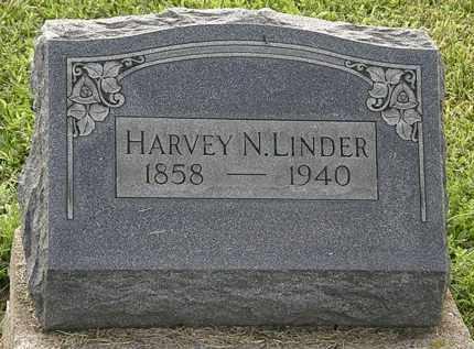 LINDER, HARVEY N. - Morrow County, Ohio | HARVEY N. LINDER - Ohio Gravestone Photos
