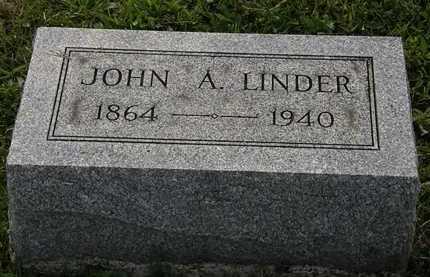 LINDER, JOHN A. - Morrow County, Ohio | JOHN A. LINDER - Ohio Gravestone Photos
