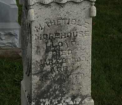 LLOYD, MAHETIBLE - Morrow County, Ohio | MAHETIBLE LLOYD - Ohio Gravestone Photos