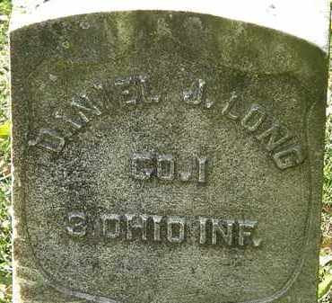LONG, DANIEL J. - Morrow County, Ohio | DANIEL J. LONG - Ohio Gravestone Photos