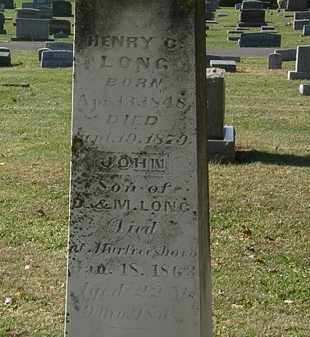 LONG, M. - Morrow County, Ohio | M. LONG - Ohio Gravestone Photos