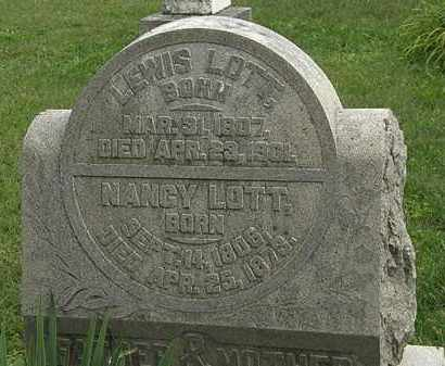 LOTT, NANCY - Morrow County, Ohio | NANCY LOTT - Ohio Gravestone Photos