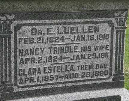 LUELLEN, NANCY - Morrow County, Ohio | NANCY LUELLEN - Ohio Gravestone Photos