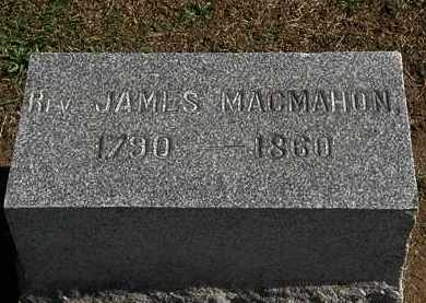 MACMAHON, JAMES - Morrow County, Ohio | JAMES MACMAHON - Ohio Gravestone Photos
