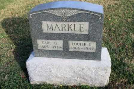 MARKLE, LOUISE C - Morrow County, Ohio | LOUISE C MARKLE - Ohio Gravestone Photos