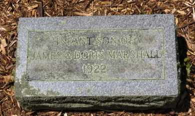 MARSHALL, INFANT SON - Morrow County, Ohio | INFANT SON MARSHALL - Ohio Gravestone Photos
