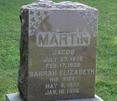 MARTIN, JACOB - Morrow County, Ohio | JACOB MARTIN - Ohio Gravestone Photos