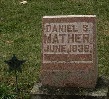 MATHER, DANIEL S. - Morrow County, Ohio | DANIEL S. MATHER - Ohio Gravestone Photos