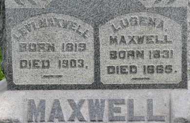 MAXWELL, LEVI - Morrow County, Ohio | LEVI MAXWELL - Ohio Gravestone Photos