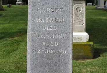 MAXWELL, ROBERT - Morrow County, Ohio | ROBERT MAXWELL - Ohio Gravestone Photos