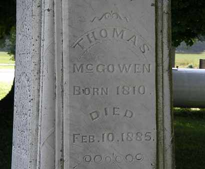 MCCOWEN, THOMAS - Morrow County, Ohio | THOMAS MCCOWEN - Ohio Gravestone Photos