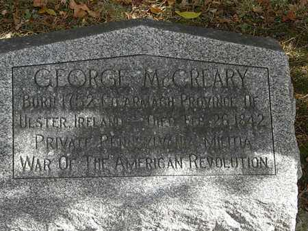 MCCREARY, GEORGE - Morrow County, Ohio | GEORGE MCCREARY - Ohio Gravestone Photos