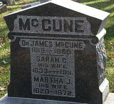 MCCUNE, JAMES - Morrow County, Ohio | JAMES MCCUNE - Ohio Gravestone Photos