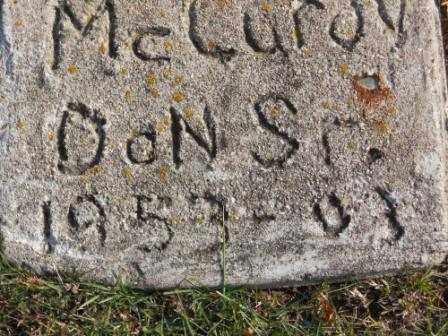MCCURDY, DON SR - Morrow County, Ohio | DON SR MCCURDY - Ohio Gravestone Photos